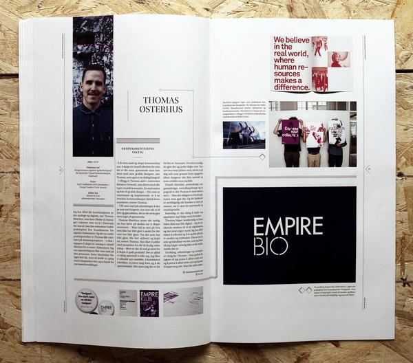 Snitt Magazine / via mag spreads #editorial #design