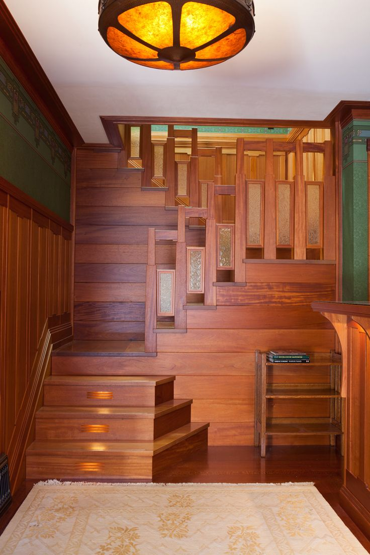 36 best craftsman mission style railings images on for Craftsman interior design elements