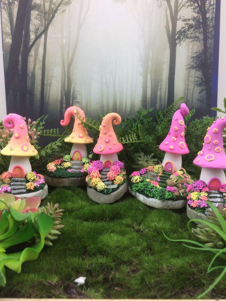 Fairy house collection www.etsy/shop/fairysmallthings $40 – fairy gardens miniatures