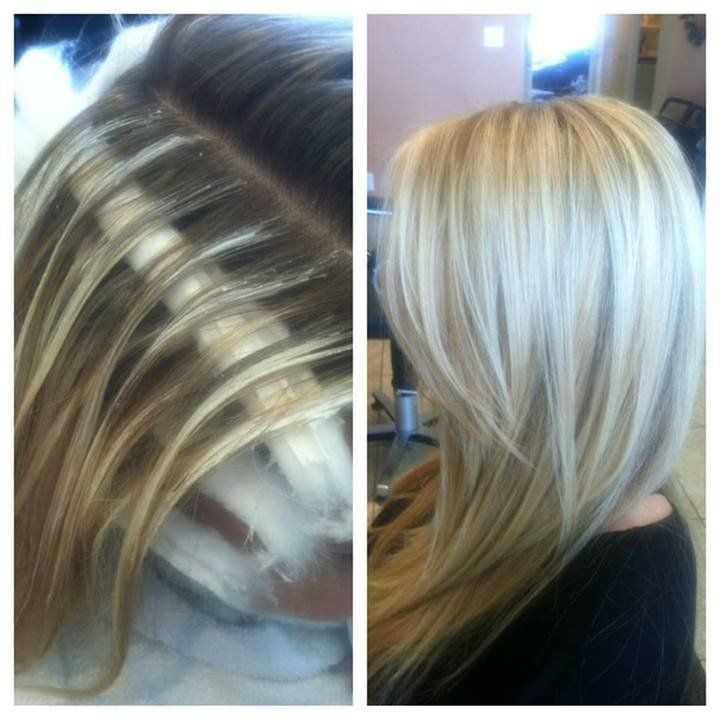 European Touch Hair Design - Los Angeles, CA, United States. Balayage Technique highlights