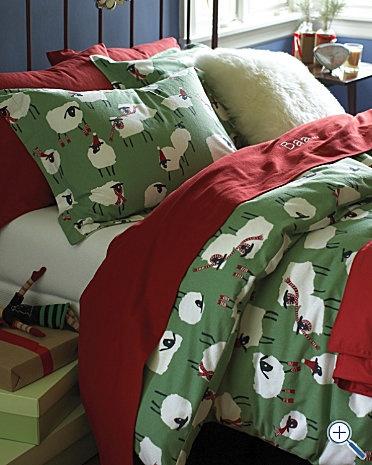 I love Christmas sheets