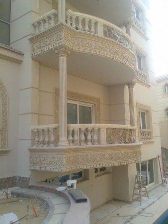 صور واجهات جي ار سي Grc تشطيب فلل فخم ميكساتك House Styles Outdoor Living Decor