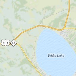 Map of White Lake NC | White Lake North Carolina Hotels, Restaurants, Airports | MapQuest