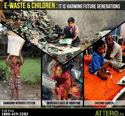 6. E-waste harm children