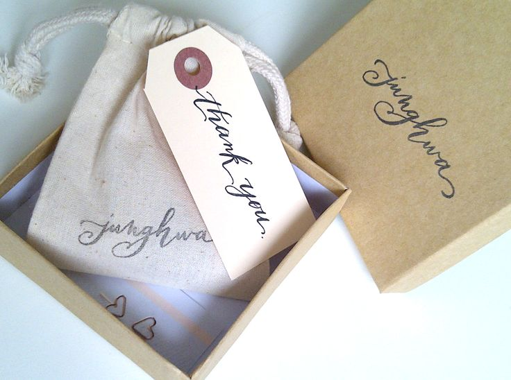 The packaging that came with my beautiful bracelet from Junghwa by Amy Stewart #etsy #packaging
