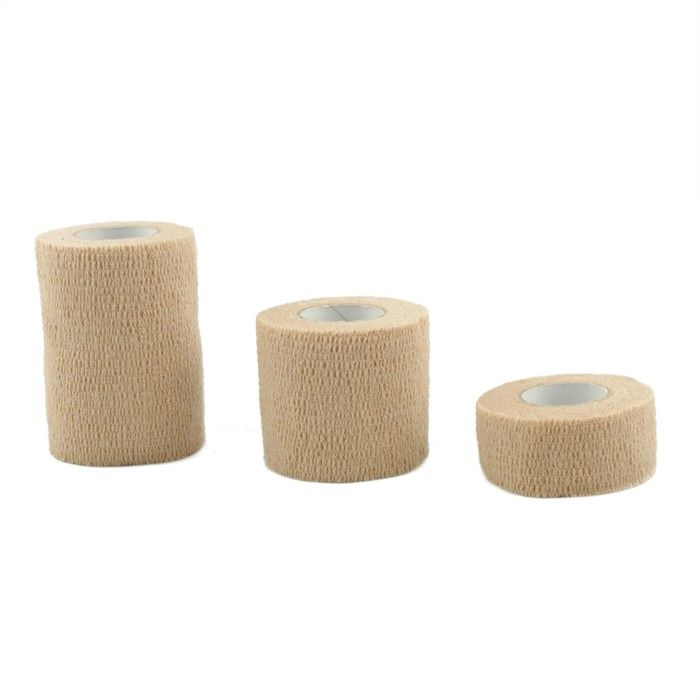 LockerCo Cohesive Bandage - Reusable bandage (non adhesive). Different types of tapes are used on different body parts to provide the right balance of joint control and movement