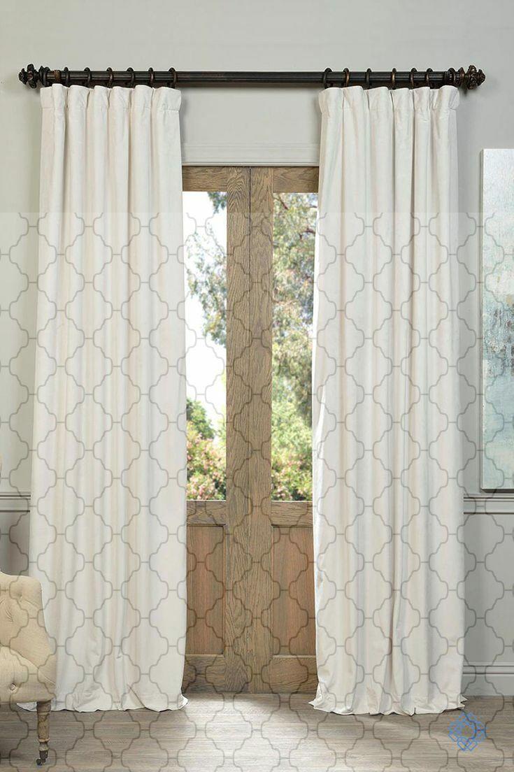 6 Top Ideas Blue Velvet Curtains short curtains simple Modern