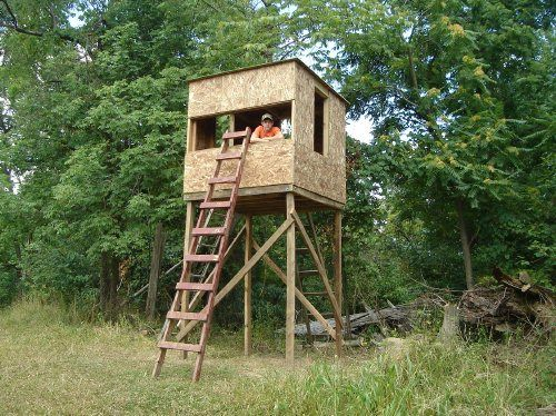 17 best deer blinds images on pinterest deer blinds deer hunting