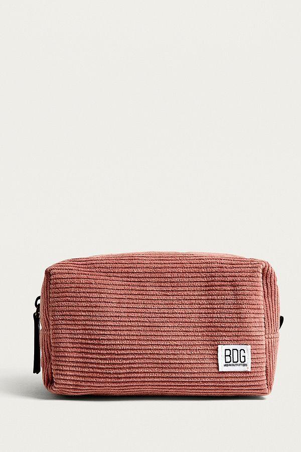 mode de luxe site professionnel meilleure sélection de 2019 BDG Pink Corduroy Make-Up Bag | Sacs en 2019 | Sac, Trousse ...
