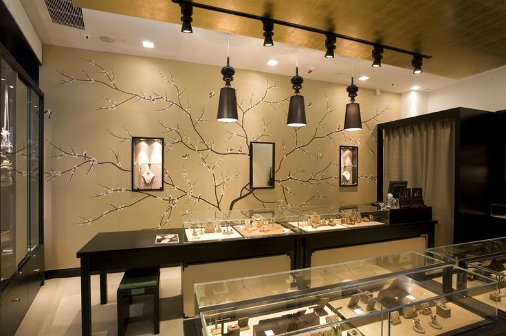 Jewelry Store Interior Design Ideas