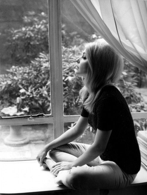 Sharon Tate - the woman never took a bad picture.  such saddness