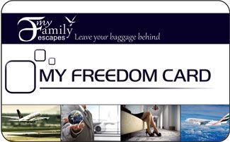 My Freedom Card - Amazing travel benefits - One card Huge Savings!!