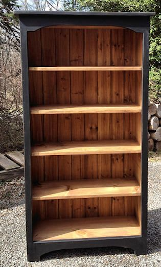 25 Best Ideas About Black Bookcase On Pinterest