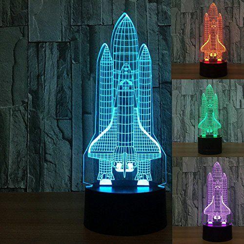 3d Illusion Lamp Novelty Optical Led Light 7 Colors Chang Https Www Amazon Com Dp B07c3rhb24 Ref Cm Sw R Pi Dp U X J3vb 3d Illusion Lamp Night Light Lamp