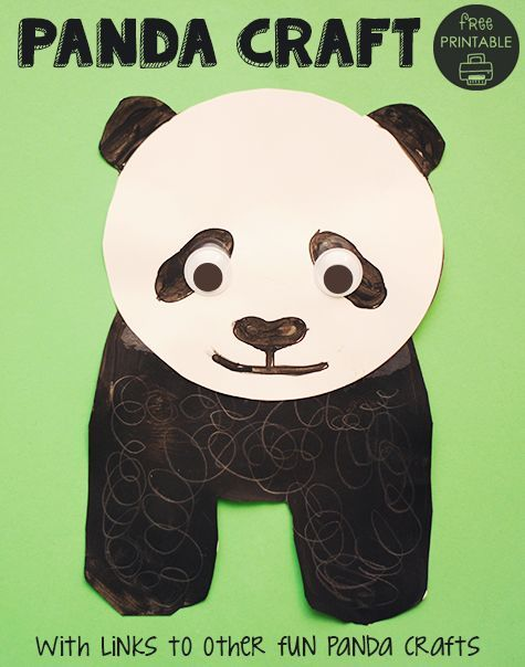 panda crafts for preschoolers 69 best images about p is for on pizza 496