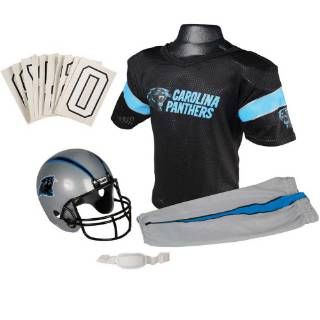 Check out the Franklin Sports 15700F30P1Z NFL Panthers Small Uniform Set