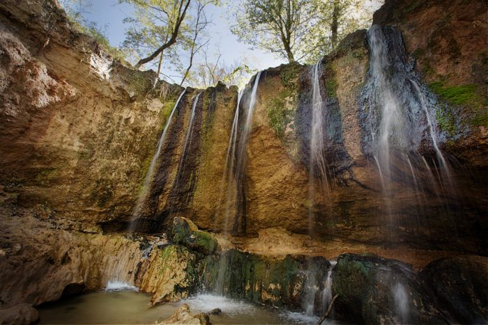 Tunica Hills Louisiana Campgroungs --- There are some truly spectacular views here.