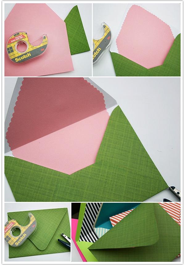 14 best handmade envelopes images on pinterest handmade envelopes card envelopes and craft for Homemade envelopes