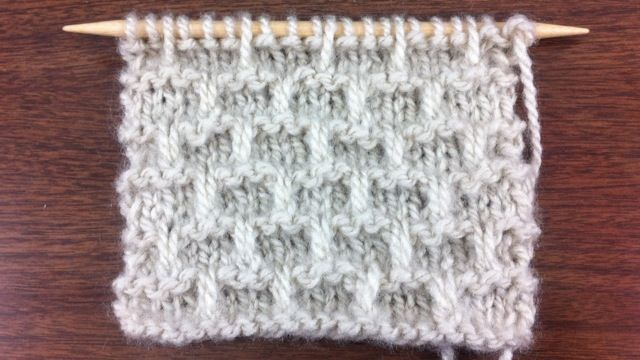 The Brick Stitch :: Knitting Stitch #56 :: New Stitch A Day