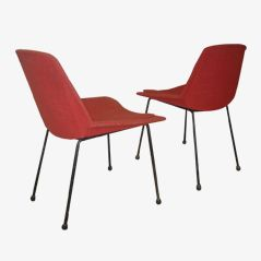 Rote Stühle Von Saporiti, 1950er, 2er Set Jetzt Bestellen Unter:  Https://moebel.ladendirekt.de/kueche Und Esszimmer/stuehle Und Hocker/esszimmerstuehle/?uid  ...