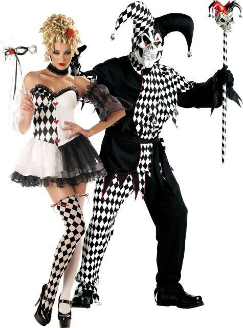 couples halloween costumes ideas halloween costumes for couples - Halloween Costumes Harlequin