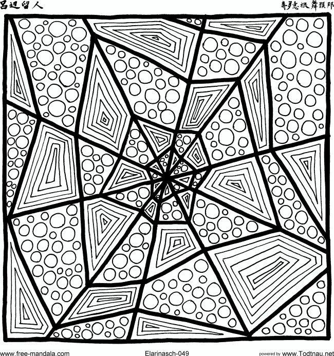 Off center Mandala.