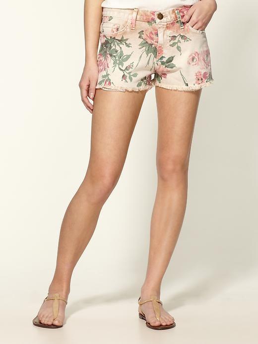 current/elliot floral shorts
