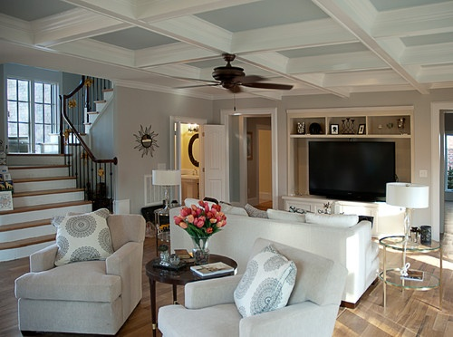 Ceiling and neutral furniture