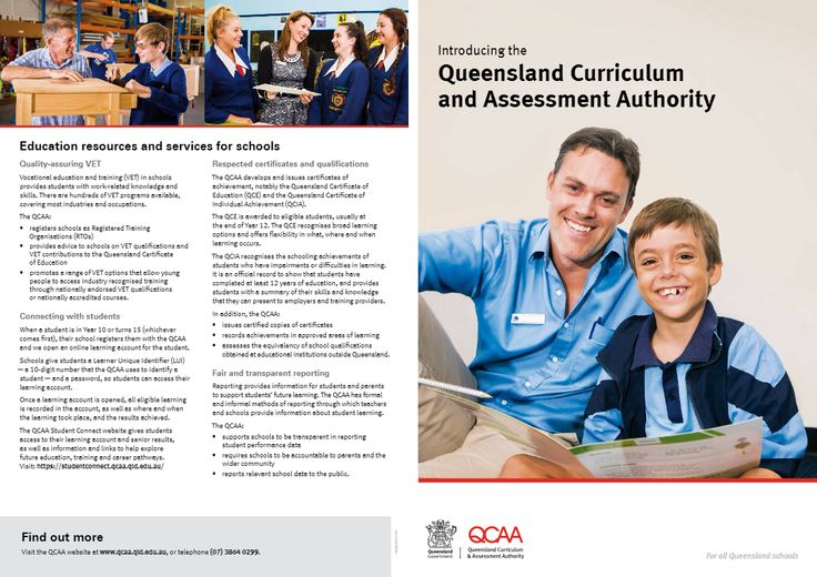 Introducing the Queensland Curriculum and Assessment Authority