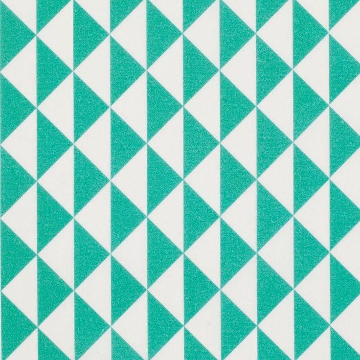 Tissu coton triangles Vintage