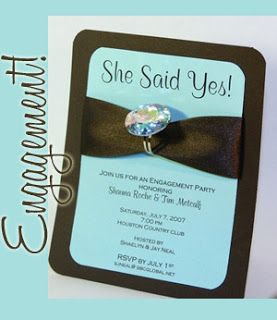 bling Bridal Shower  | Cute for a bridal shower or engagement party favor