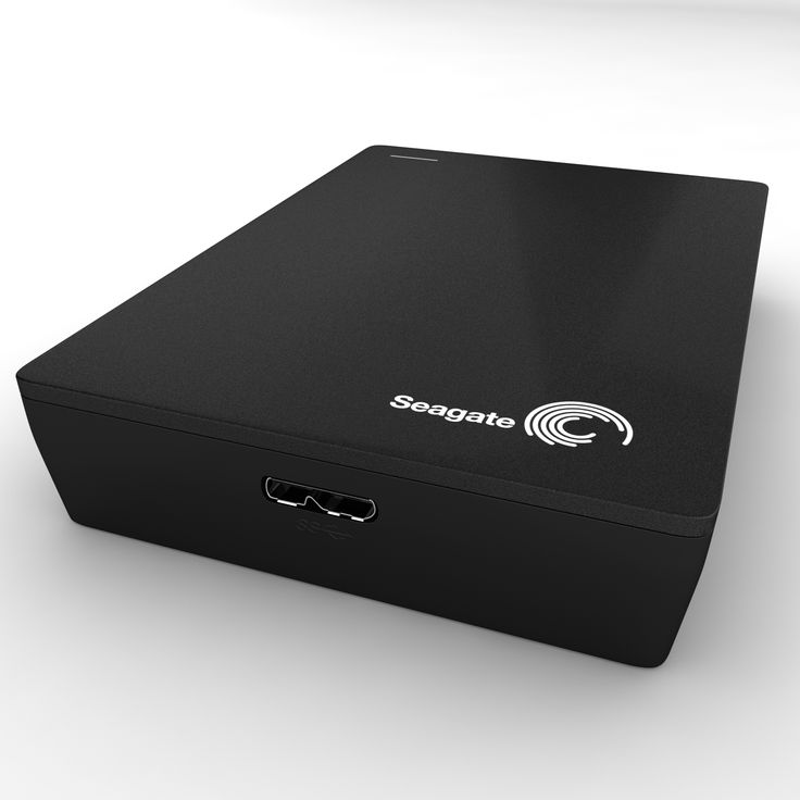 Seagate Back Up Plus  3ds Max external HDD harddisk black USB 3.0 pc storage V-Ray components Seagate Back Up Plus portable data  Modeling: 3ds Max 2009 Rendering: V-Ray 2.0 Polygons: 1 379 Vertices: 1 432