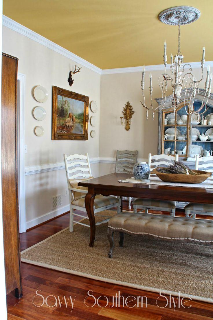 Südlichen Stil Häuser, Savvy Südlichen Stil, Südlichen Charme, Französisch  Land Esszimmer, Französisch Bauernhaus, Küchenschränke, Träumen Zimmer, ...