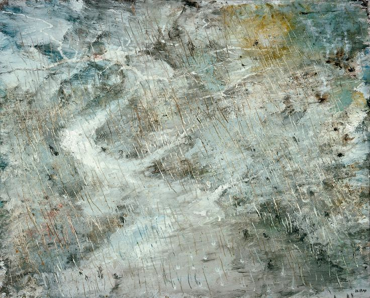 miquel barceló - El diluvio (Le Déluge), 1990. Técnica mixta sobre lienzo. 230 x 287,7 x 4 cm. Guggenheim Bilbao Museoa