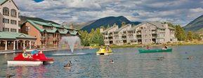 Summer Fun at Keystone Adventure Center - paddle boats and kayaks