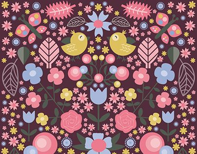"Check out new work on my @Behance portfolio: ""Spring flower"" http://be.net/gallery/34681979/Spring-flower"