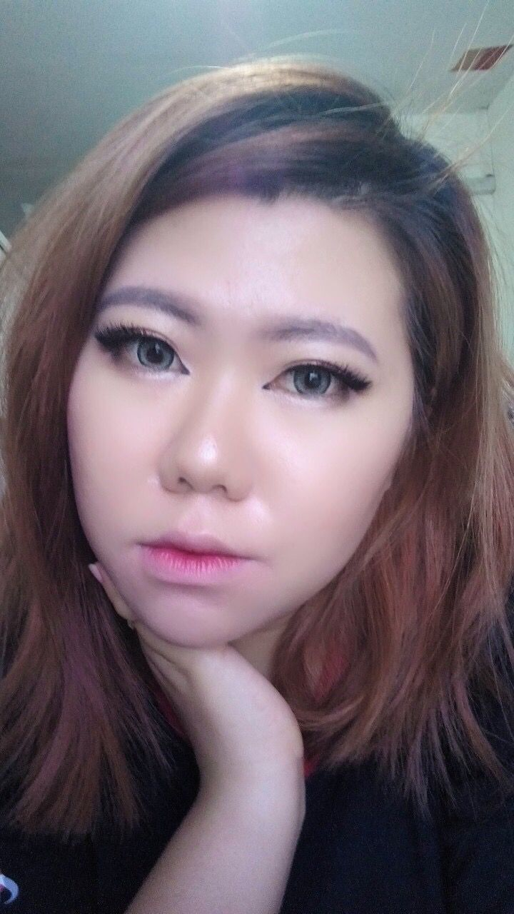 Dolly look | asian | monolid