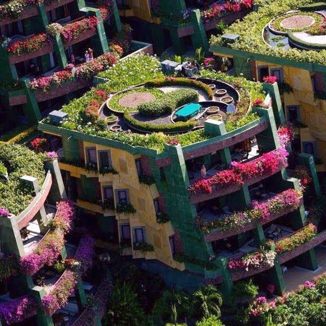 Amar la Vida Natural - Amar a Vida Natural: Amar la naturaleza: Spaces, Botanical Apartment, Building, Favorite Places, Phuket Thailand, Gardens, House, Architecture, Apartments