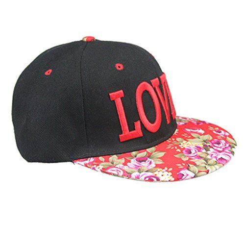 Adjustable Rose and LOVER Embroidered Designed Baseball Cap Hip-Pop Hat, Red  //Price: $ & FREE Shipping //     #sports #sport #active #fit #football #soccer #basketball #ball #gametime   #fun #game #games #crowd #fans #play #playing #player #field #green #grass #score   #goal #action #kick #throw #pass #win #winning
