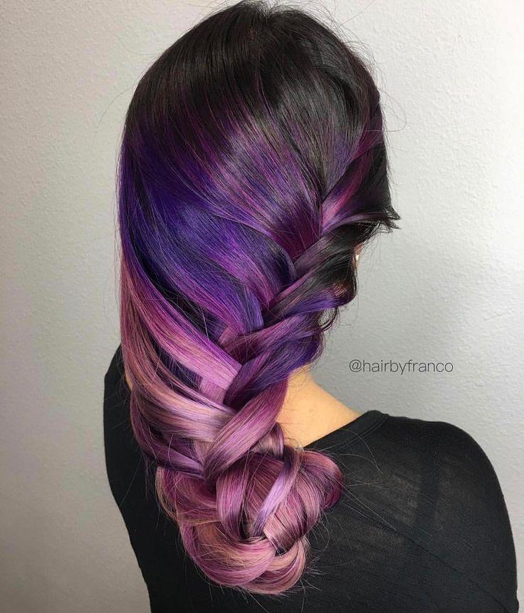 "1,209 Likes, 13 Comments - American Salon (@american_salon) on Instagram: ""Always gorgeous work @hairbyfranco 💜 #regram #americansalon"""