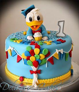 Delana's Cakes: Donald Duck Cake
