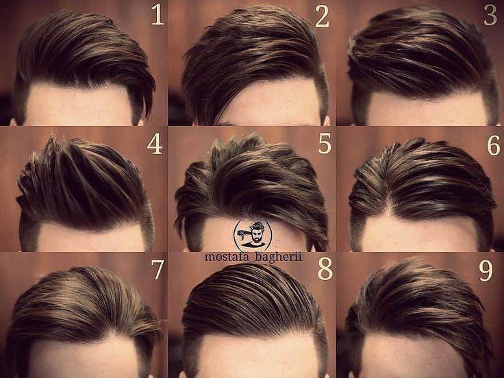 "15k lượt thích, 337 bình luận - Best Men's Hairstyles and Cuts (@menshairs) trên Instagram: ""@mostafa_bagherii -  Which one?…"""