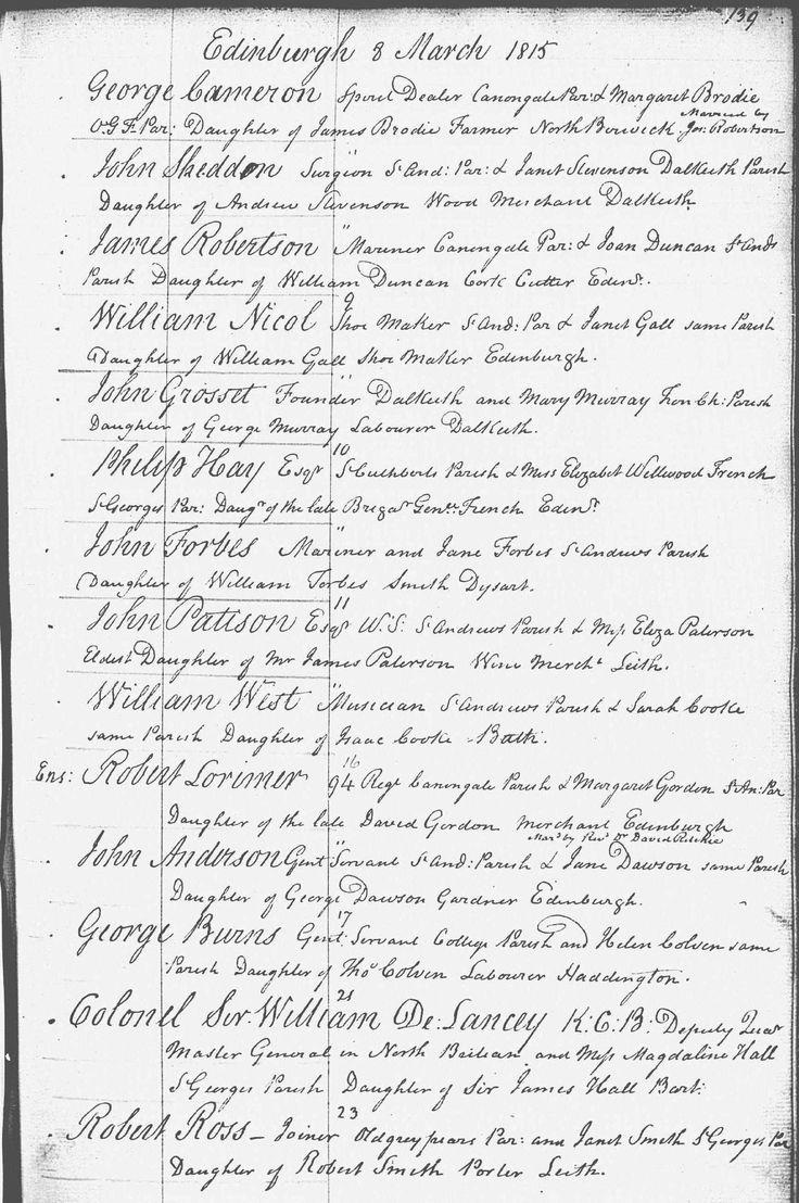 Genealogy Scottish family birth records census ancestry Scotland uk - ScotlandsPeople