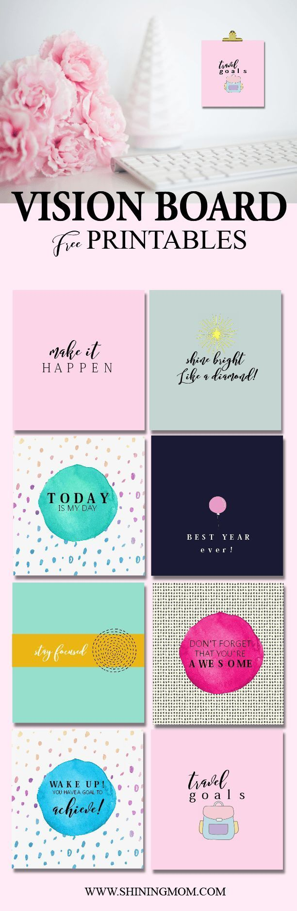 Image result for TEACHING vision board template