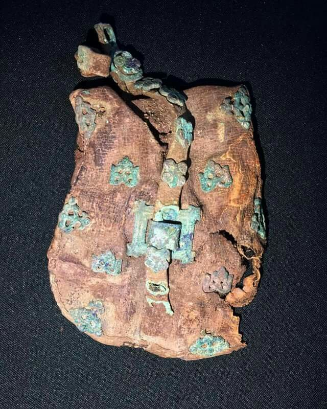"""Magyar bag"" found in Alanic grave. Chechnya"