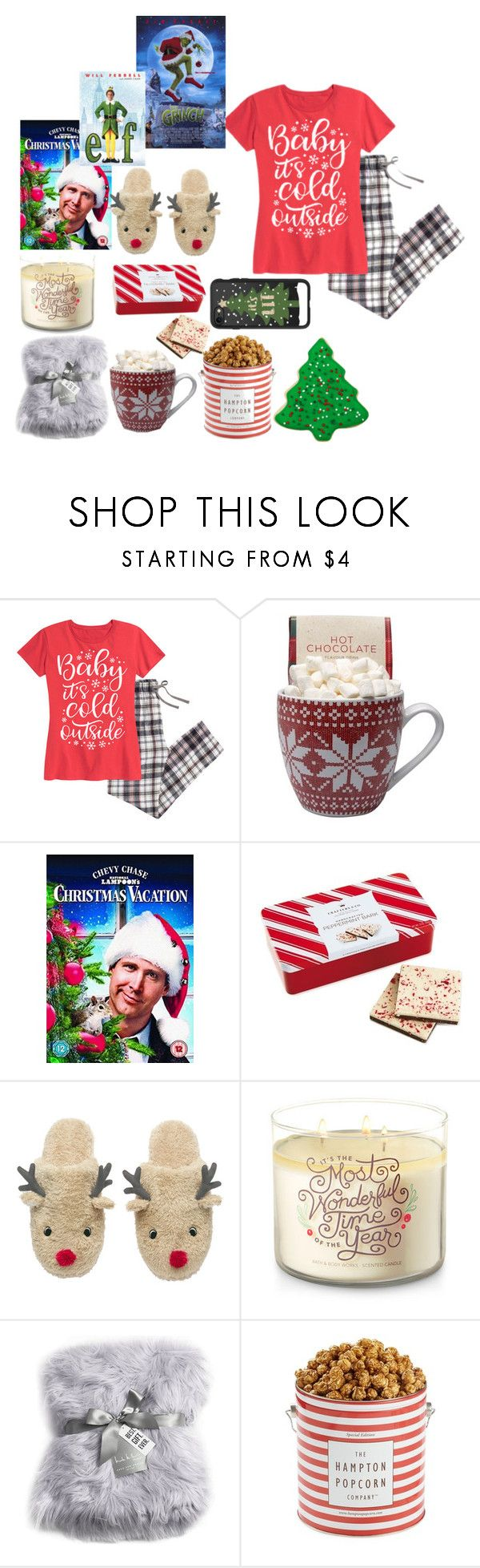 """christmas·eve·eve"" by pandieandbffs on Polyvore featuring Nicole Miller, The Hampton Popcorn Company and Casetify"