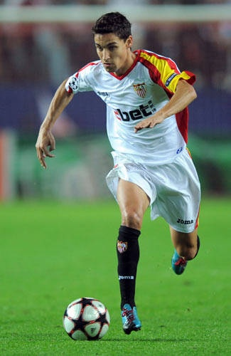 Jesus Navas on Sevilla FC https://www.youtube.com/watch?v=0gV1P88n0YE Gol Copa del Rey 2010