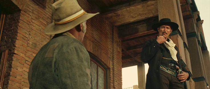 #TheGoodTheBadAndTheUgly Directed by #SergioLeone -1966- #ClintEastwood  #EliWallach #LeeVanCleef #CostumeDesignby #CarloSimi