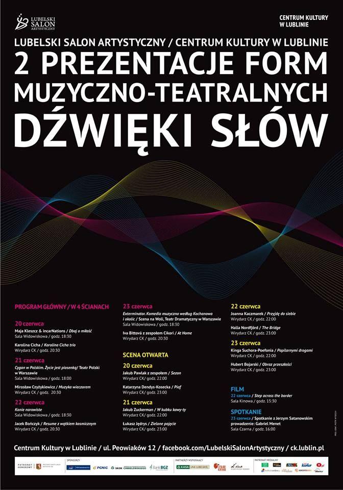 Prezentacje Form Muzyczno-Teatralnych DŹWIĘKI SŁÓW