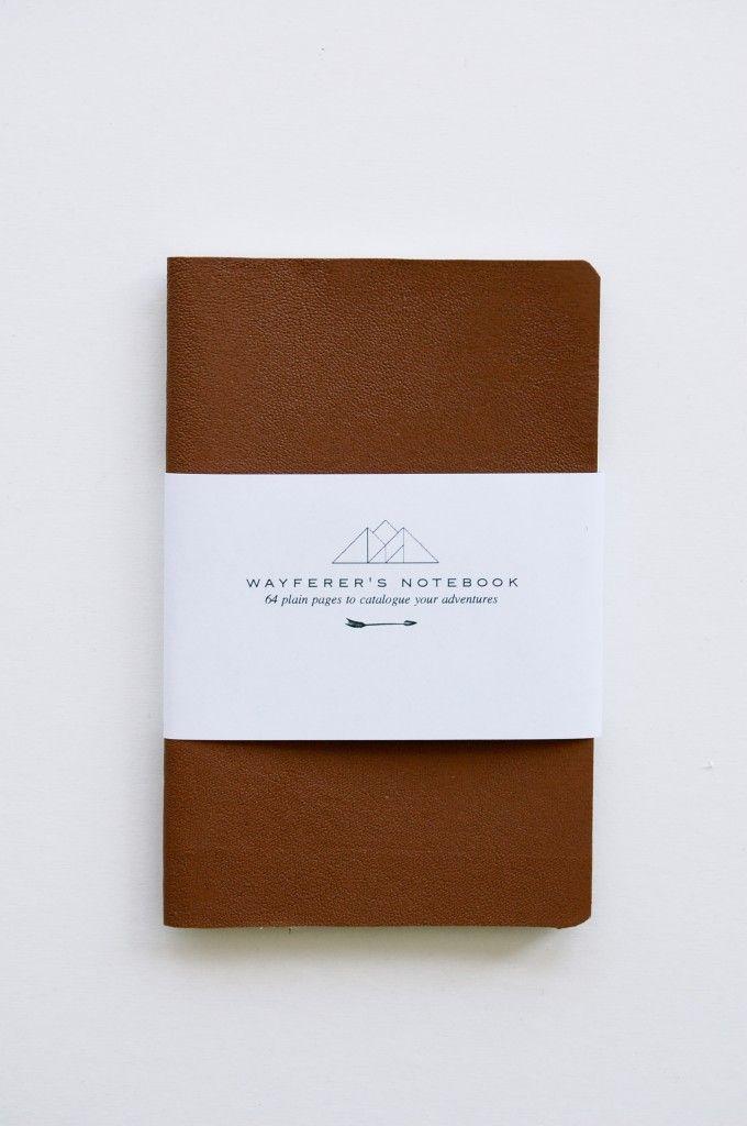 wayfarer's notebook.